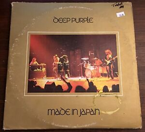 Deep-Purple-Made-In-Japan-1973-Double-LP-Vinyl-2WS-2701-Smoke-On-Water-Record