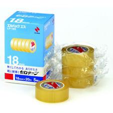 Nichiban Lp 18s Cellotape 18mm20m Small Sellotape 5pcs Pack Genuine Japan