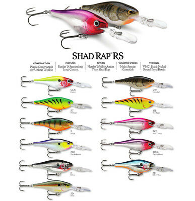 Rapala Shad Rap 05 Fishing Lures