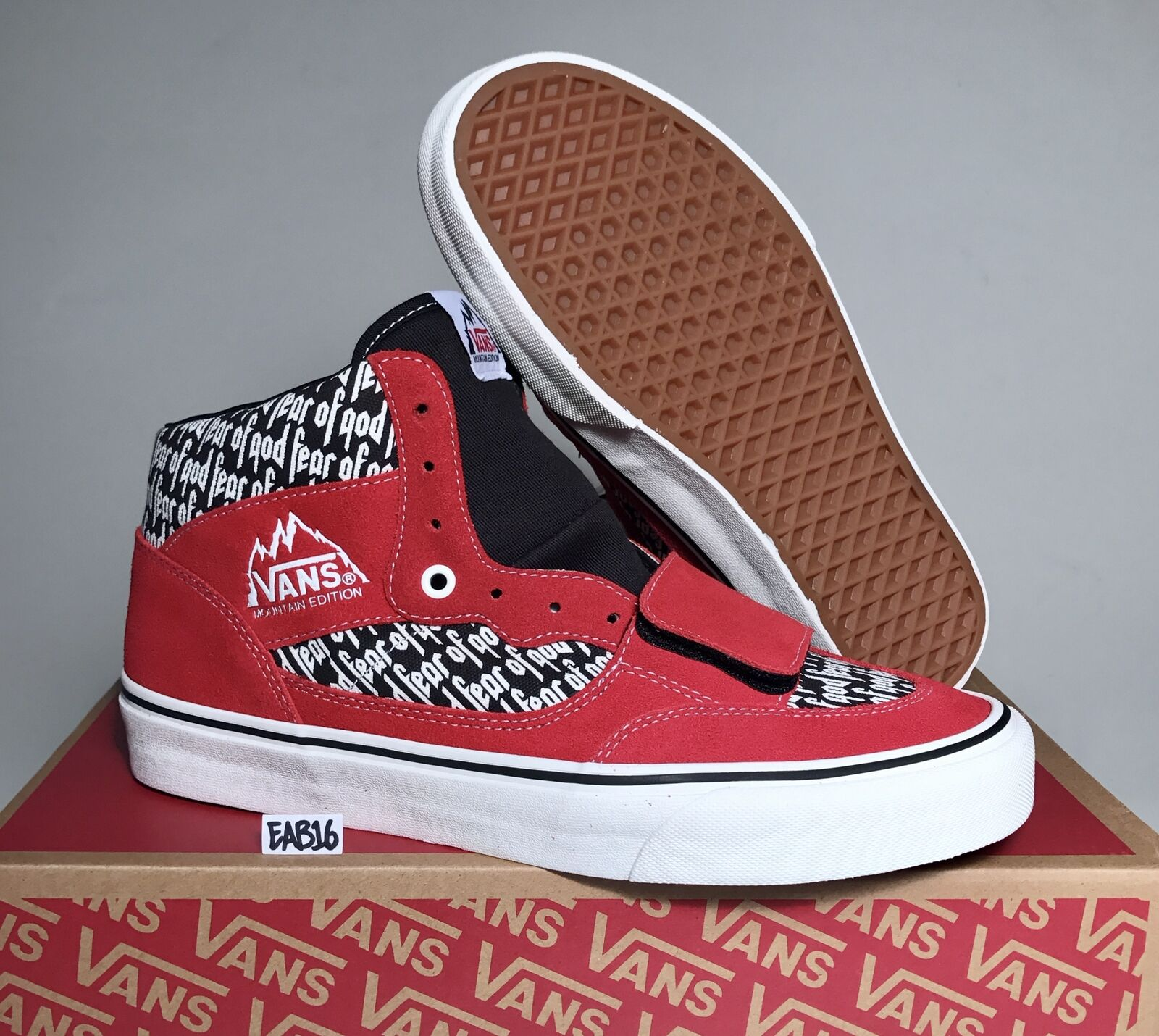 Vans X Fear of God Mountain Edition 35 DX Collection 9.5 2 Size 9.5 Collection 10 10.5 FOG f47059