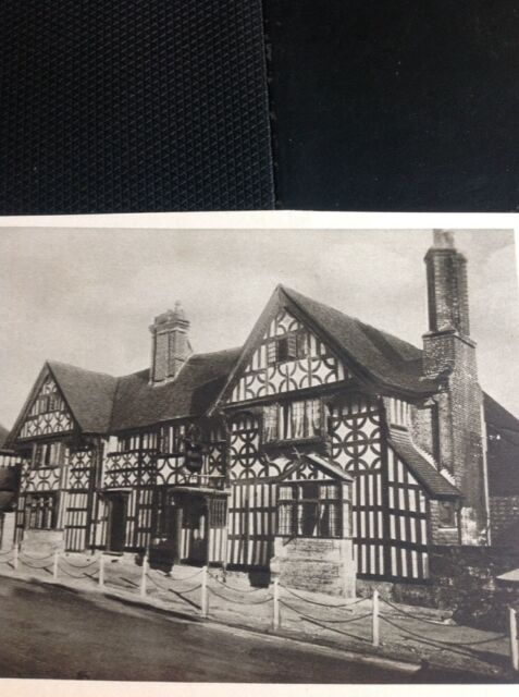M4-2 Ephemera 1930s Picture Walnut Tree House Mayfield