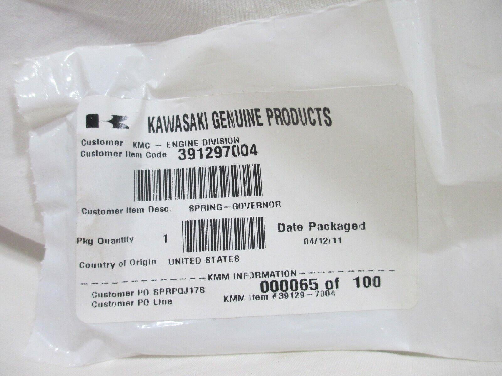 Genuine OEM Kawasaki SPRING-GOVERNOR 39129-2043