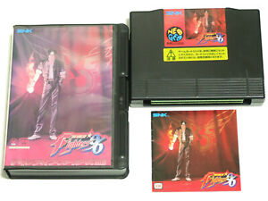 The-King-of-Fighters-96-KOF-SNK-Neo-Geo-AES-Import-Japan