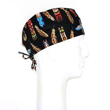 Hawaii Tiki Theme Scrub Hat