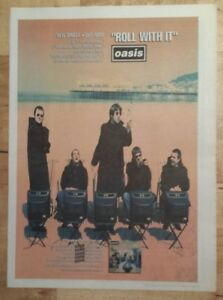 Oasis-Roll-with-it-1995-press-advert-Full-page-27-x-38-cm-mini-poster