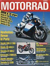 Motorrad 21 85 1985 BMW K75C Jawa 350 MZ 250 Honda MBX80 Yamaha RD80LC II