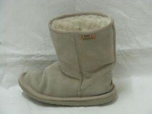 8d74fad57b5 Details about WOMENS EMU RIDGE BRONTE LOW AUSTRALIAN SHEEPSKIN BOOTS SZ  KIDS 13