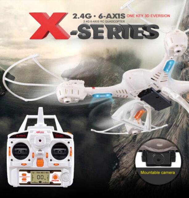 X-Series X400-V2 2.4G 6-Axis Radio Control RC Drone Quadcopter