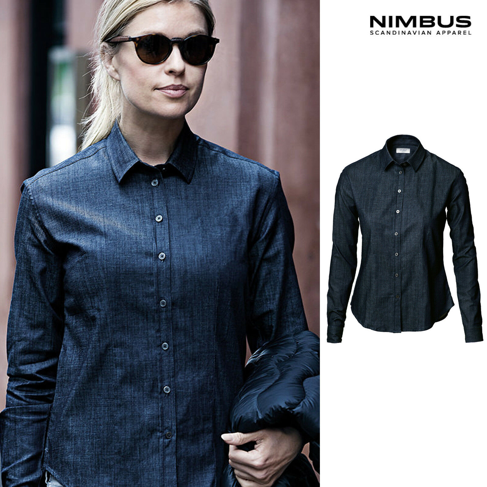 Nimbus Women's Torrance Denim Shirt NB65F