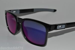 363f179be3c Image is loading OAKLEY-CATALYST-sunglasses-BLACK-INK-with-RED-IRIDIUM-