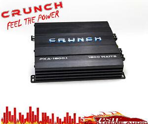 Crunch Audio PXA12001 1200 Watt 2 Ohm Stable Auto Mono Amplifier Bass Remote