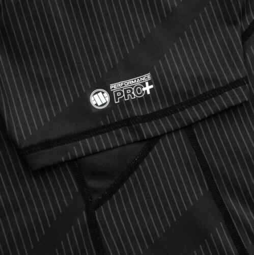 Pit Bull West Coast Training Shirt MESH Schwarz PBS Fitness Sport Funktionsshirt