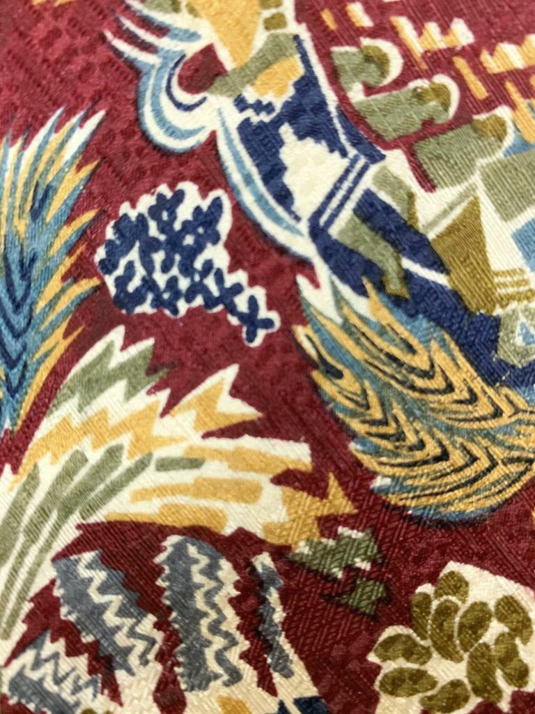Boxelder Milwaukee Viet Kunst Deko Rot Blau Gelb Seide Krawatte MAP2021A #R10