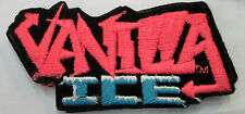 VANILLA ICE COLLECTABLE RARE VINTAGE PATCH EMBROIDED 90'S METAL LIVE