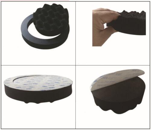4Pcs 6.5/'/' Car Door Speaker Ring Soundproof Cotton Speaker Audio Insulation Ring