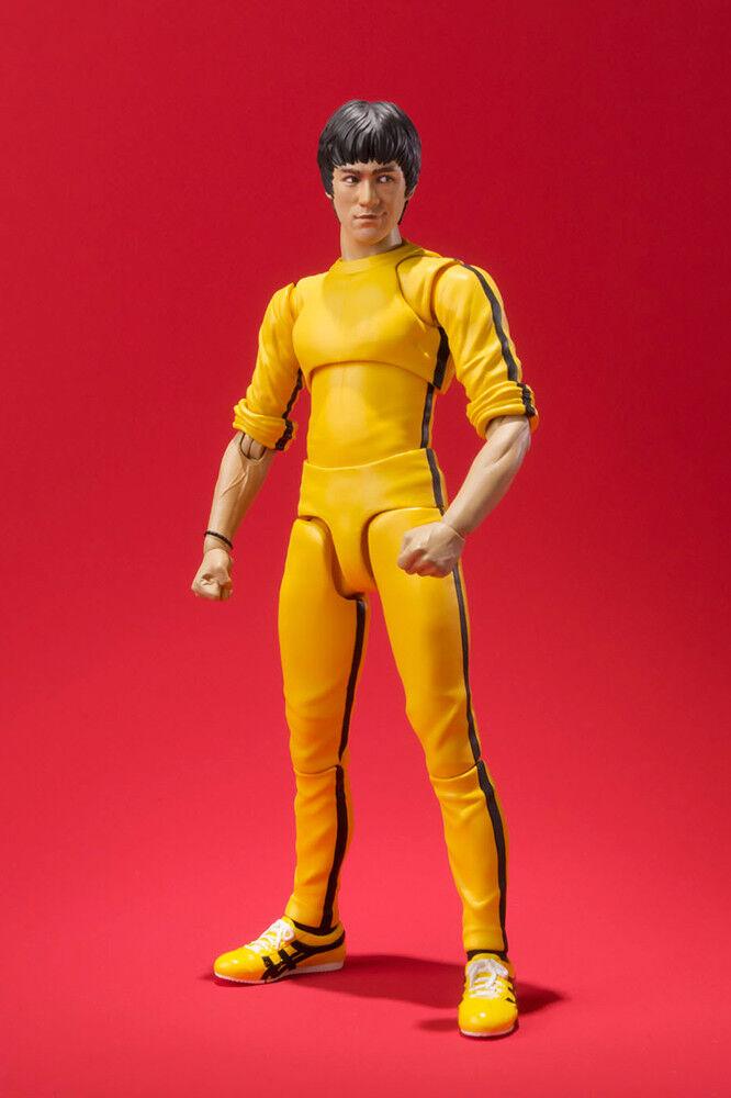Bruce Lee Yellow Jump Suit S.H. S.H. S.H. SH Figuarts Action Figure BANDAI ba77f5