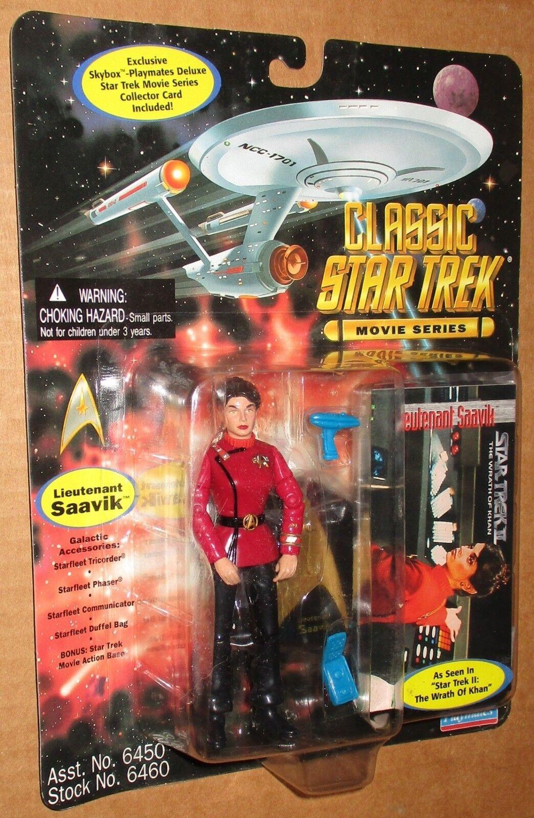 000003 Classic Star Trek Low Number Saavik Figure MOC 1995 Playmates Employee