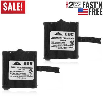 2x 700mAh Two-Way Radio BATT6R Battery For Midland BATT-6R LXT276 345 480 LXT500
