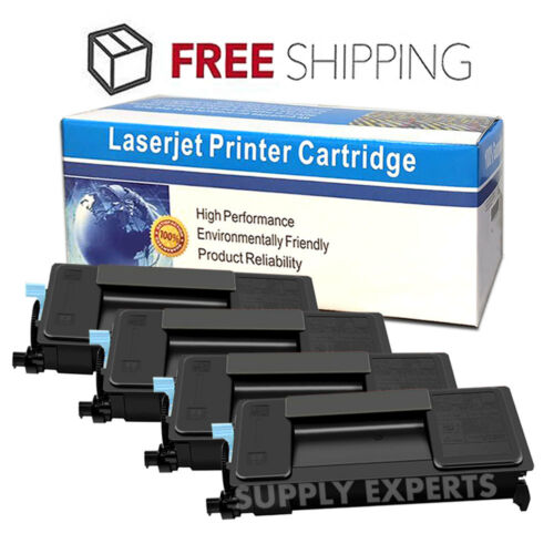 4PK TK-3122 Compatible Black Toner Cartridge For Kyocera M3550idn FS-4200DN