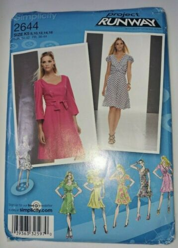 Pre-owned Dress Sewing Patterns Simplicity Vogue McCall's Butterick Sizes 6-24