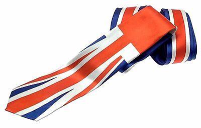 Union Jack Tie Novelty Party Ties Fancy Dress Ties Mens Ties For Men