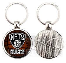 BROOKLYN NETS NBA BASKETBALL KEYRING-KEYCHAIN-PORTACHIAVI-PORTE-CLÉS-LLAVERO