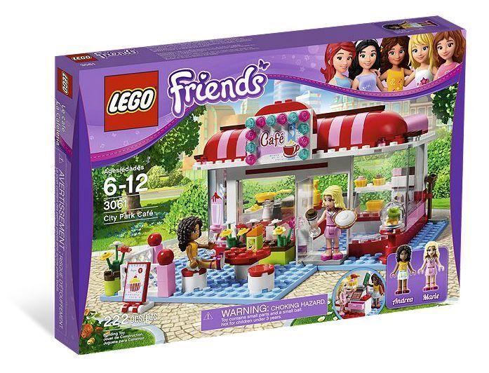 LEGO ® FRIENDS 3061 Café Nouveau neuf dans sa boîte _ City Park Café NEW En parfait état, dans sa boîte scellée Boîte d'origine jamais ouverte