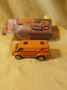 Matchbox-Superfast-No68-CHEVY-VAN-034-very-good-condition-Box-is-acceptable