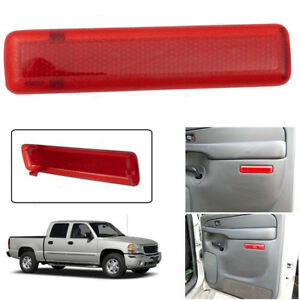 Fits 98 1998 GMC 1500 2500 3500 Truck RED Front Inside Passenger Door Handle