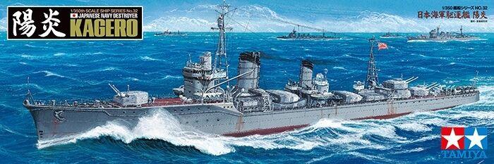 Japanese Navy Destroyer Kagero  KIT DI MONTAGGIO 1 350  78032 Tamiya