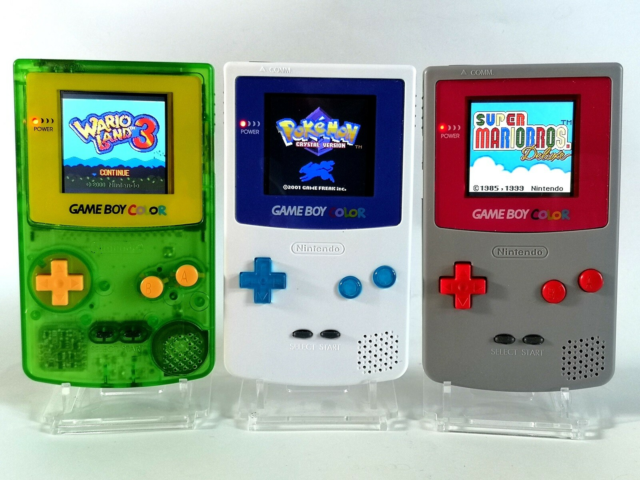 Nintendo Game Boy Color, Bagbelyst, Perfekt, Originale…