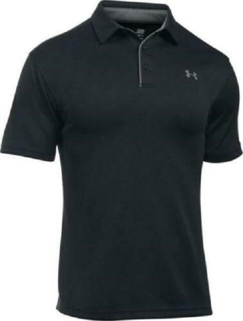 Under armour UA Tech 1290140 Men's Polo - Black/ Graphite, Size MD