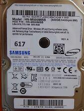 500GB Samsung HN-M500MBB | C7672-G12A-A588S | 2011.12 #617