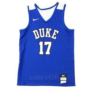 1fc2d52e2 New Nike Boy s M Duke Blue Devils Elite Reversible Basketball Jersey ...