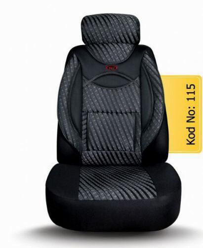 MAß Schonbezüge Sitzbezug Sitzbezüge VW Touran Fahrer /& Beifahrer  115