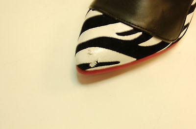 T.U.K. PIN UP Tacón Zebra Negro Contraste Señoras Tamaño UK5/EU38 A7987L