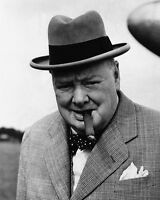 11x14 Photo: Candid Shot Of Sir Winston Churchill, Prime Minister Of The Uk