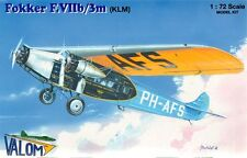 Valom 1/72 Model Kit 72070 Fokker F.VIIb/3m (KLM)