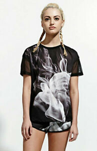 adidas-Originals-Women-039-s-Rita-Ora-French-Terry-Smoke-Print-T-Shirt-Tee-S23562