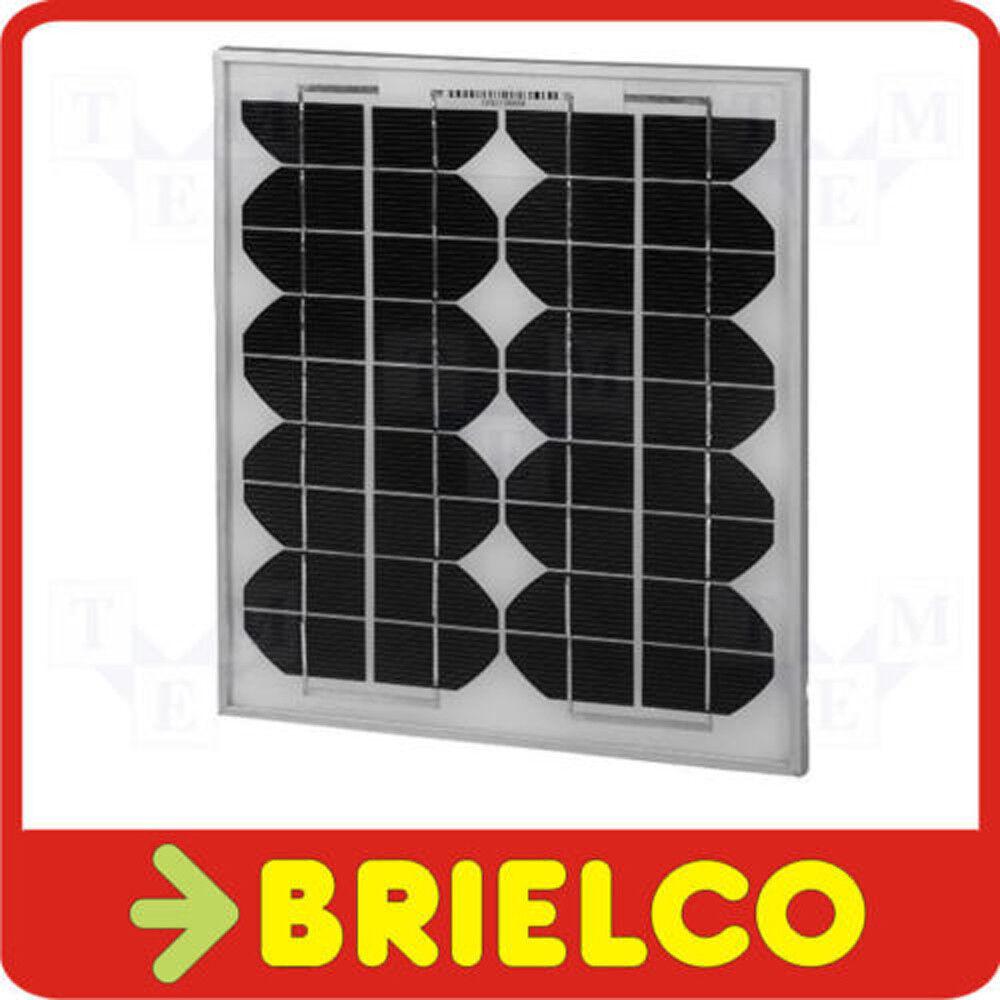 PANEL ENERGIA SOLAR PLACA BATERIA ALTO RENDIMIENTO 12V 10W 337X289x17MM BD6750
