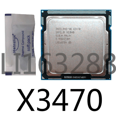 Intel Xeon X3470 2.93GHz//8M 4 Core 8 Threads LGA 1156 CPU analog i7 880