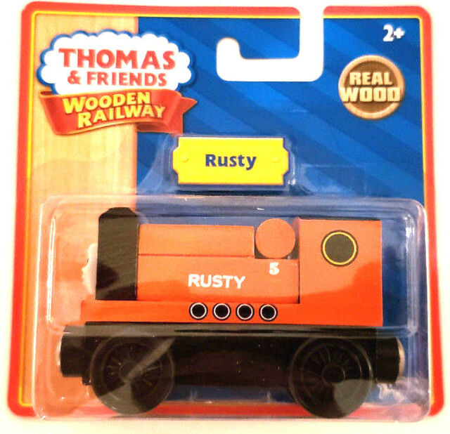 Train Engine For Sale >> Thomas The Tank Wooden Train Engine Rusty For Sale Online Ebay