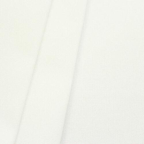 Outdoorstoff Kissen Markisenstoff Sonnenschutz PERL WEISS Breite 160cm Meterware