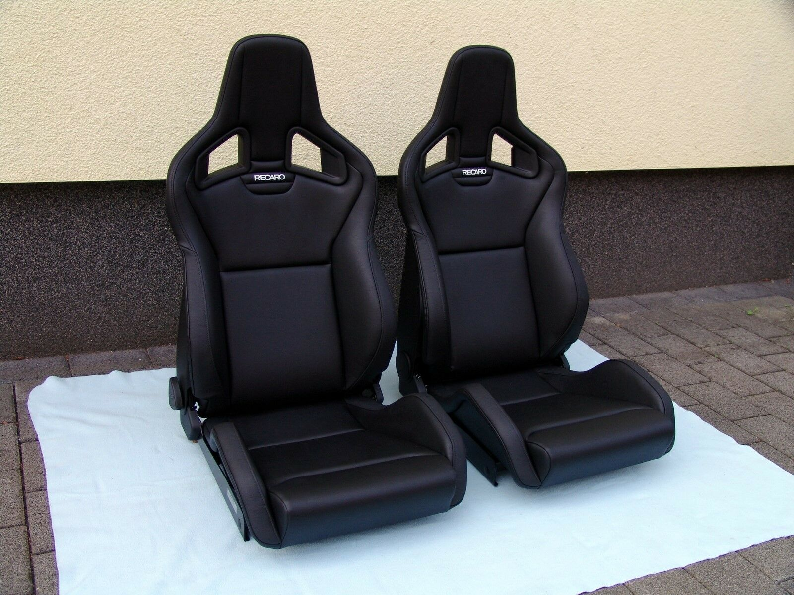 Recaro Sportster Cs Seats Artificial Leather Pair For Sale Online Ebay