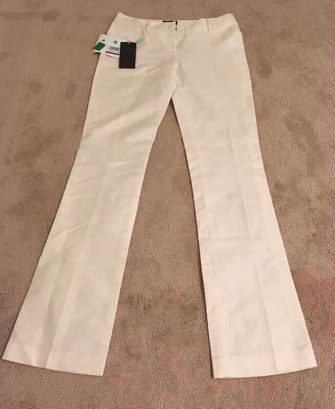 John Richmond Gorgeous Cream Pants NWT