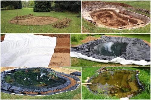 Drainagevlies Vlies Endlosfaservlies Geotextil Faservlies Filter 1,5m x 40m 120g