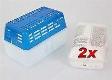 Luftentfeuchter Granulat 2x1Kg Entfeuchter Raumentfeuchter inkl.Box 100gr/0,64€
