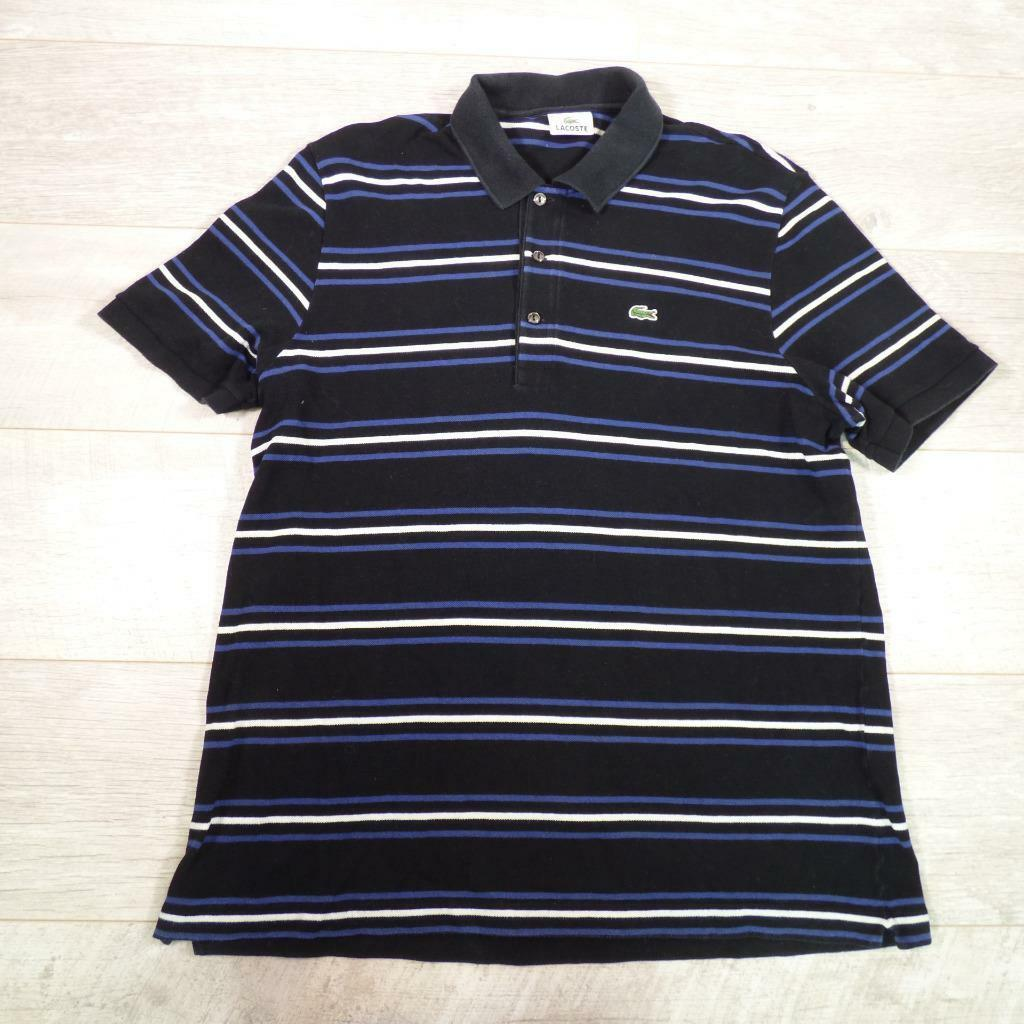 Lacoste Rayures Courtes Polo Manches Vintage Homme Designer À tdnqwYnRF