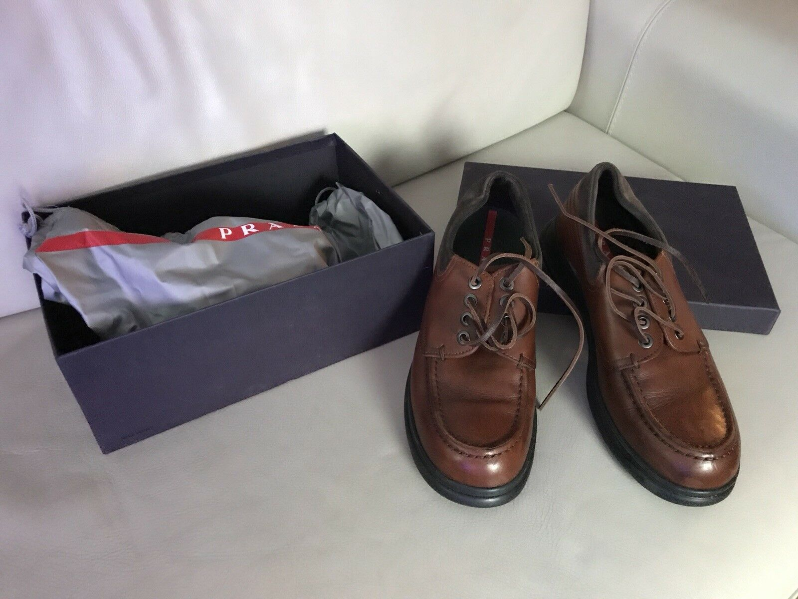 Prada mens shoes size 6