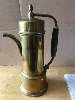 ZuverläSsig Antike Kaffee Teemaschine H 375 Mm Messing Mit Siebe Art Deco Sehr Dekorativ